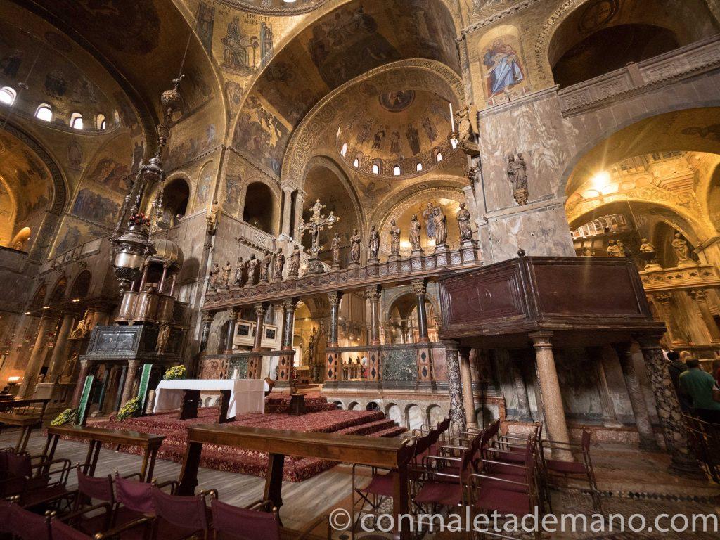 Entrar a la Basílica de San Marcos sin hacer cola