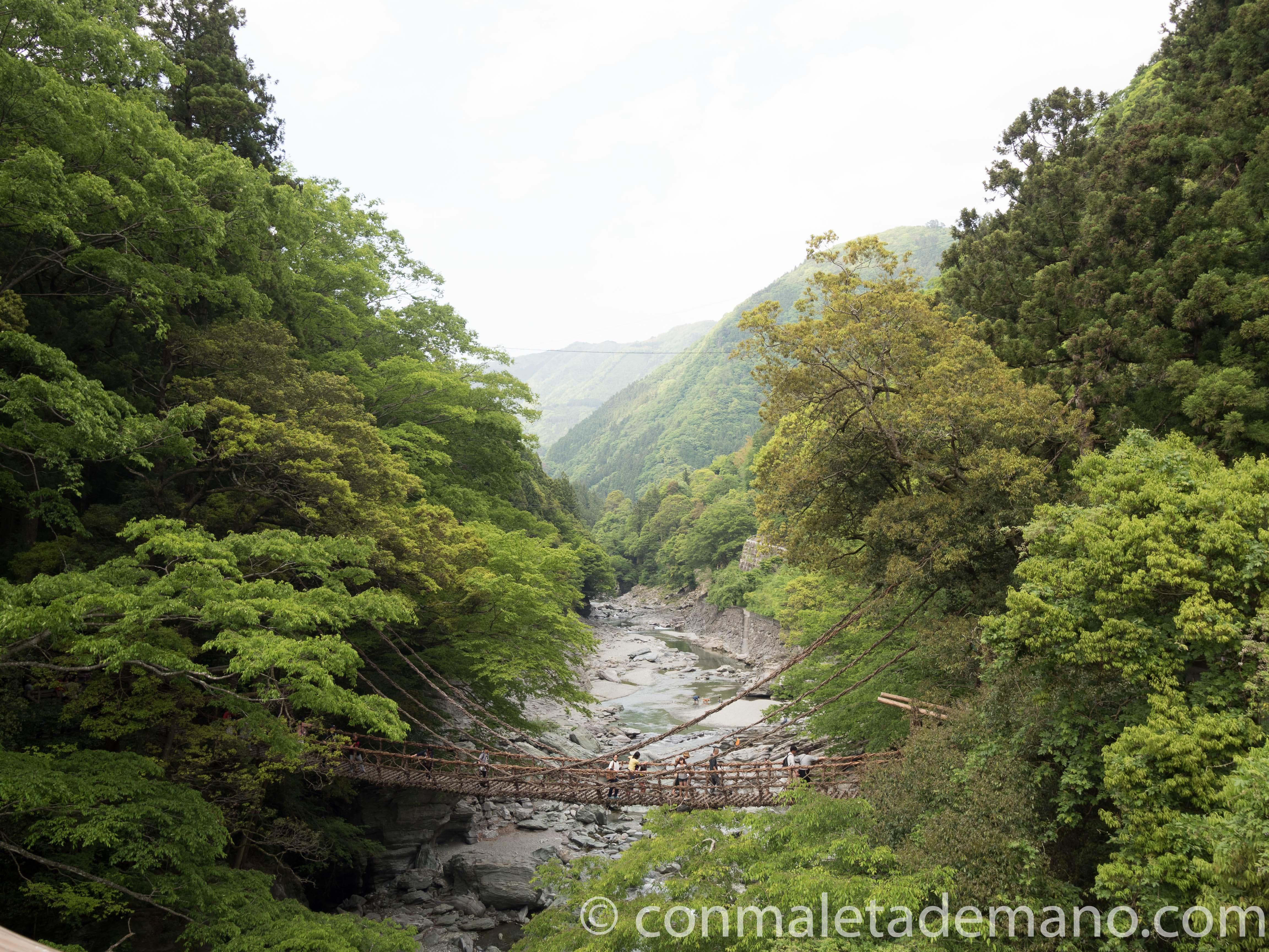 Kazurabashi Bridge, Valle de Iya