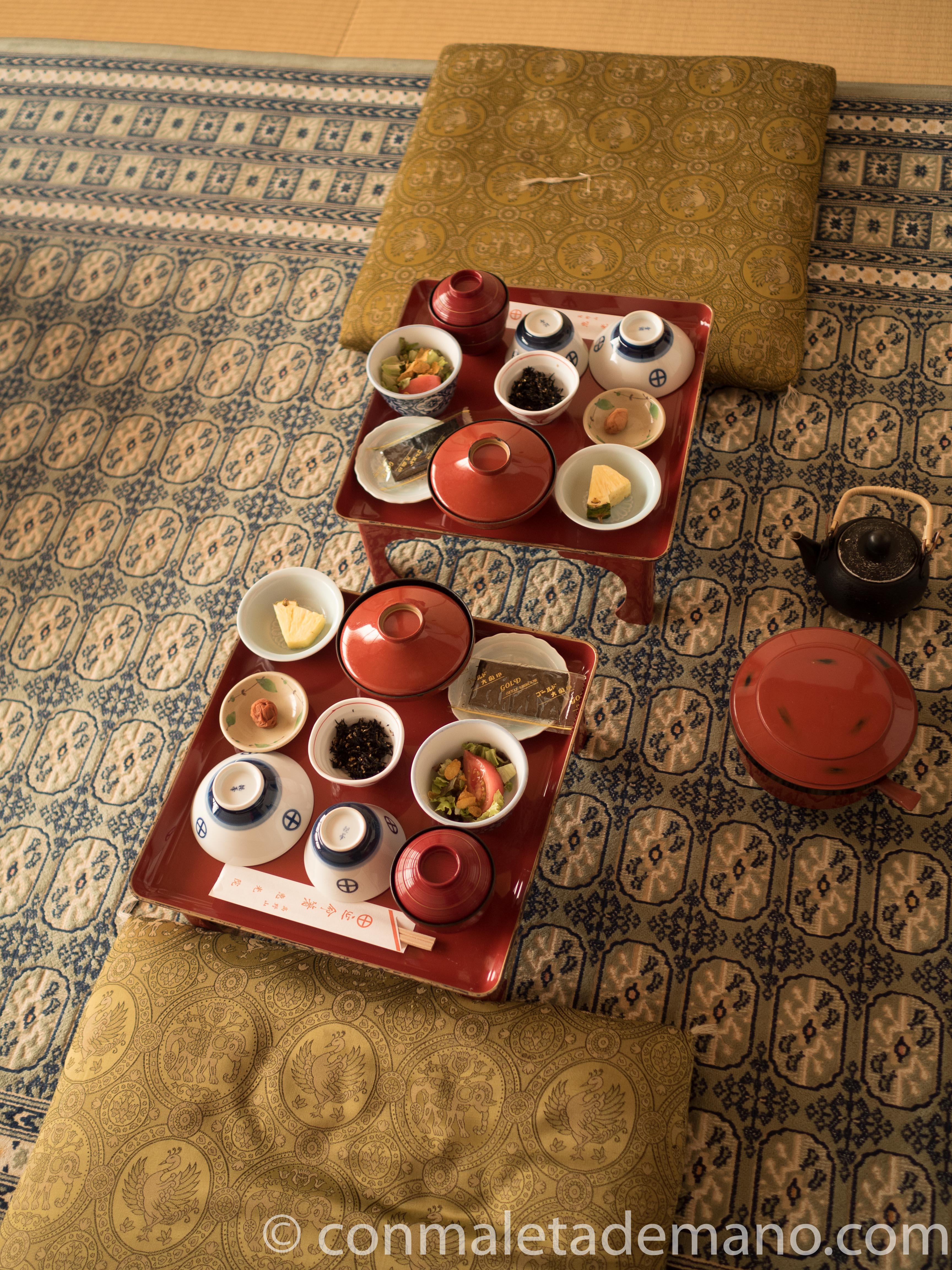 Desayuno en el Eko-in