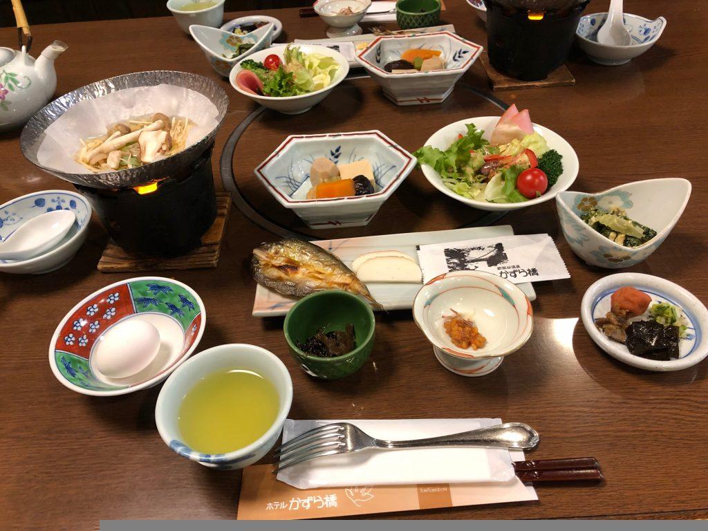 Hotel Kazurabashi. Desayuno