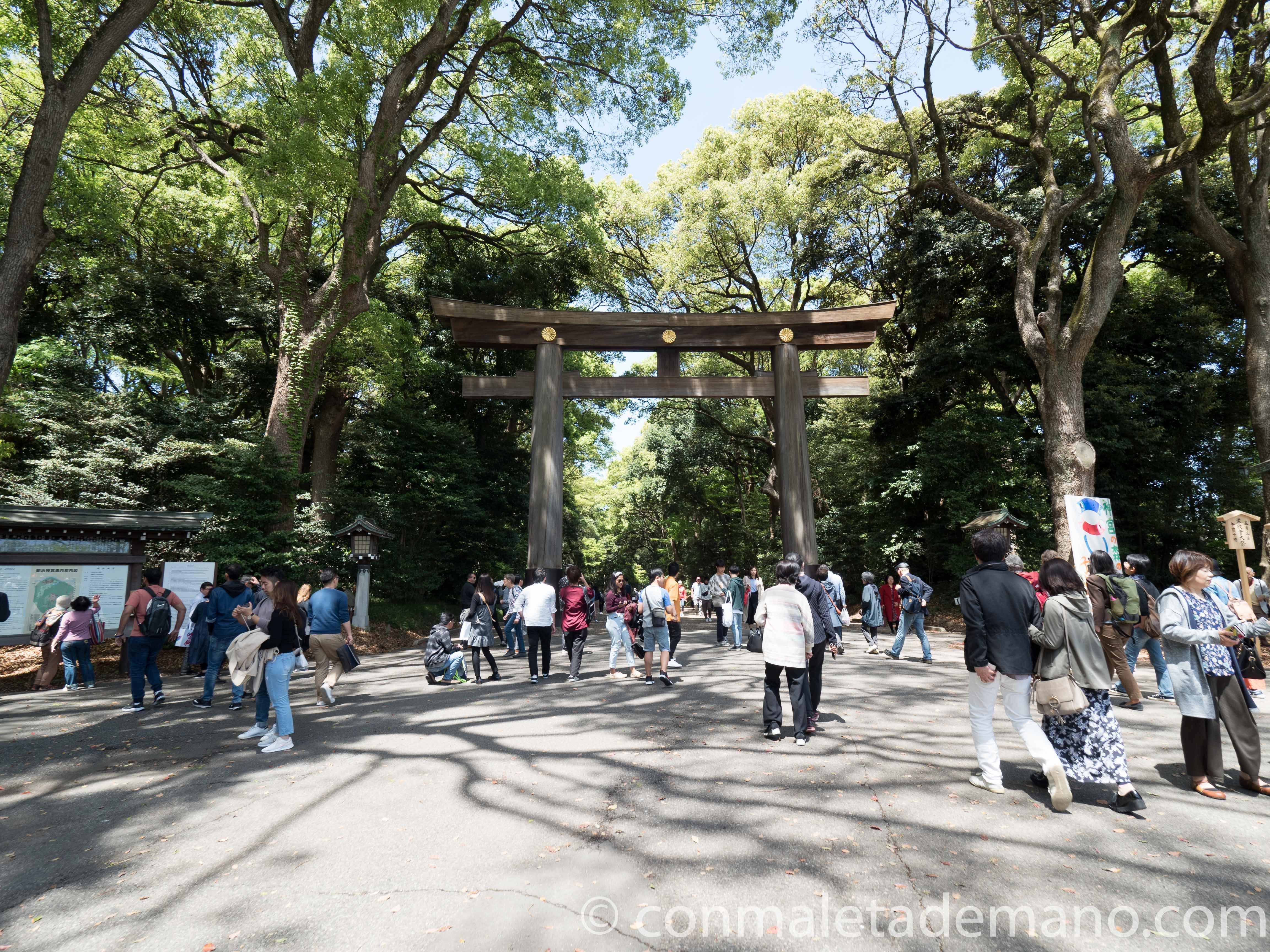 Entrada al Parque Yoyogi, Tokyo