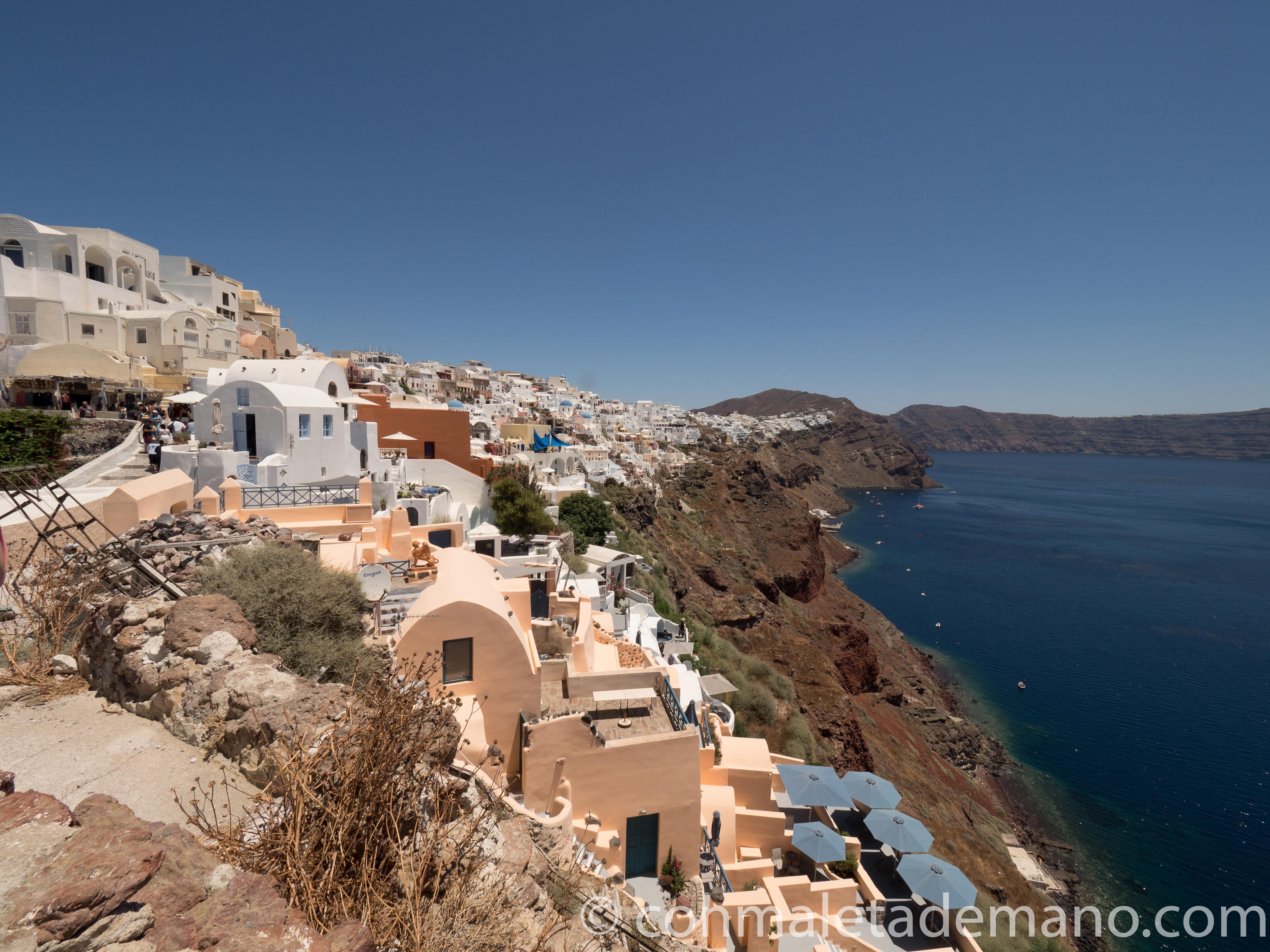 Santorini, una de las escalas del crucero Descubre Grecia, Italia, Croacia y Montenegro