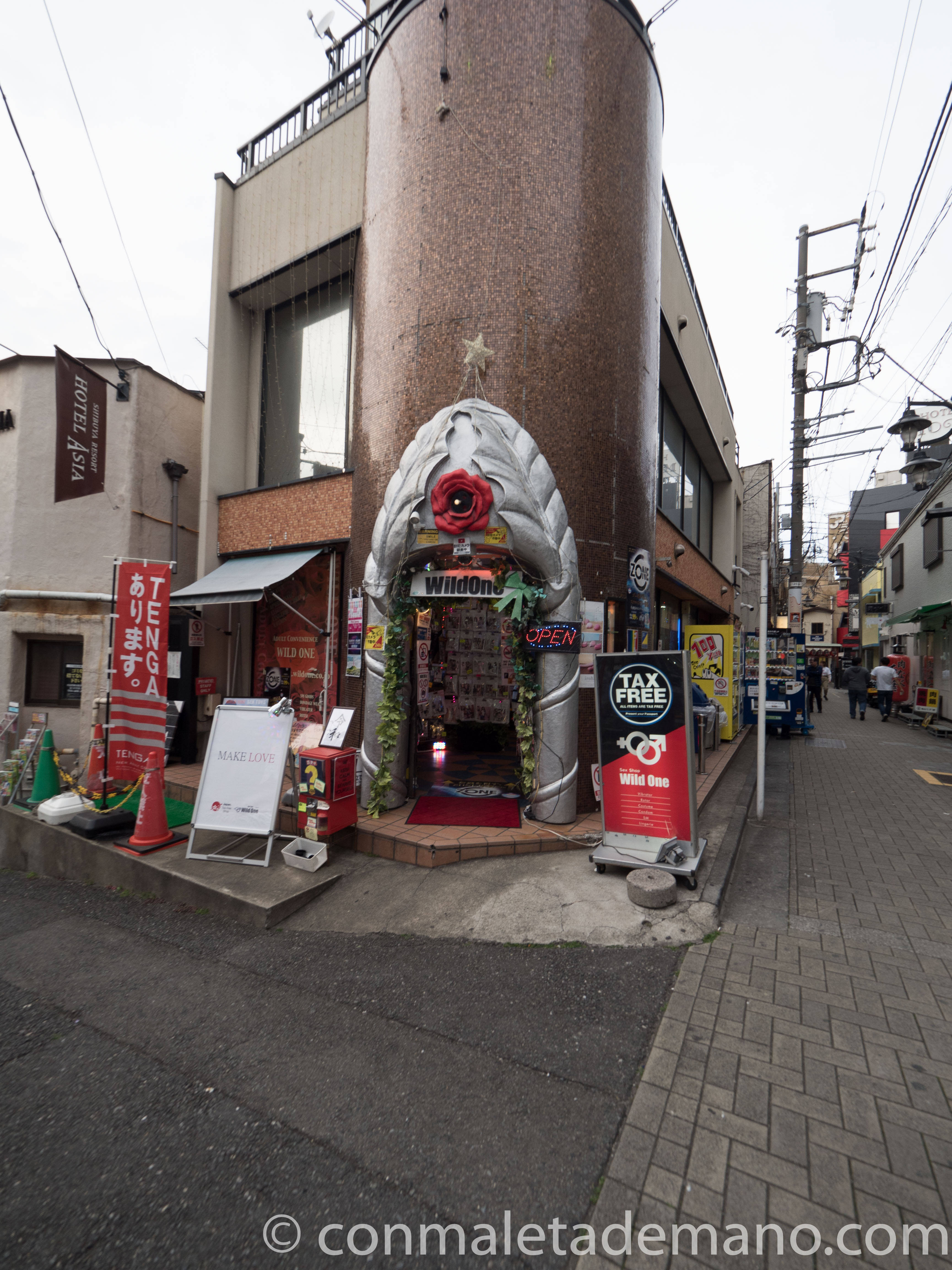Sex Shop en Dogenzaka