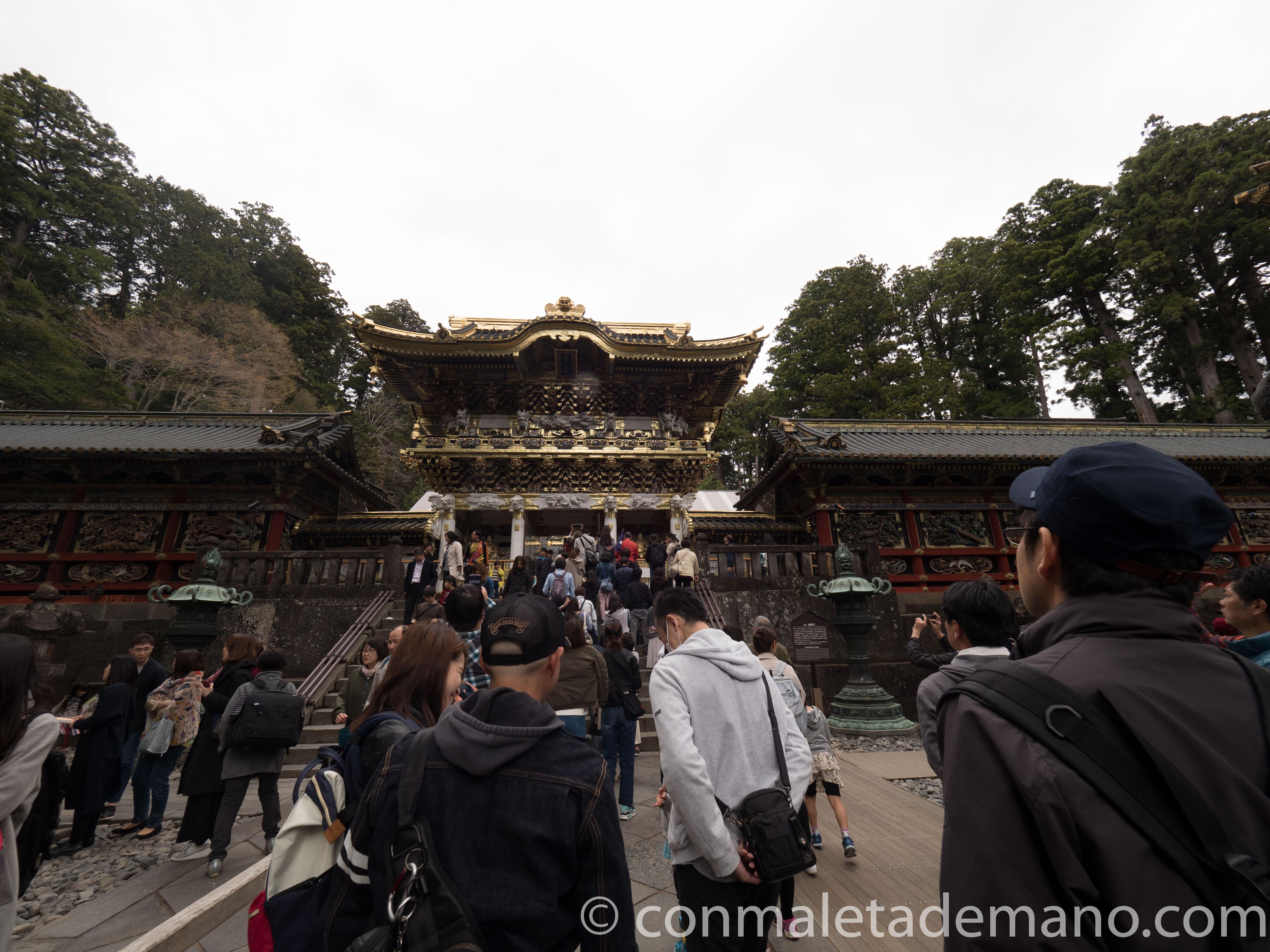 Santuario Toshogu durante la Golden Week