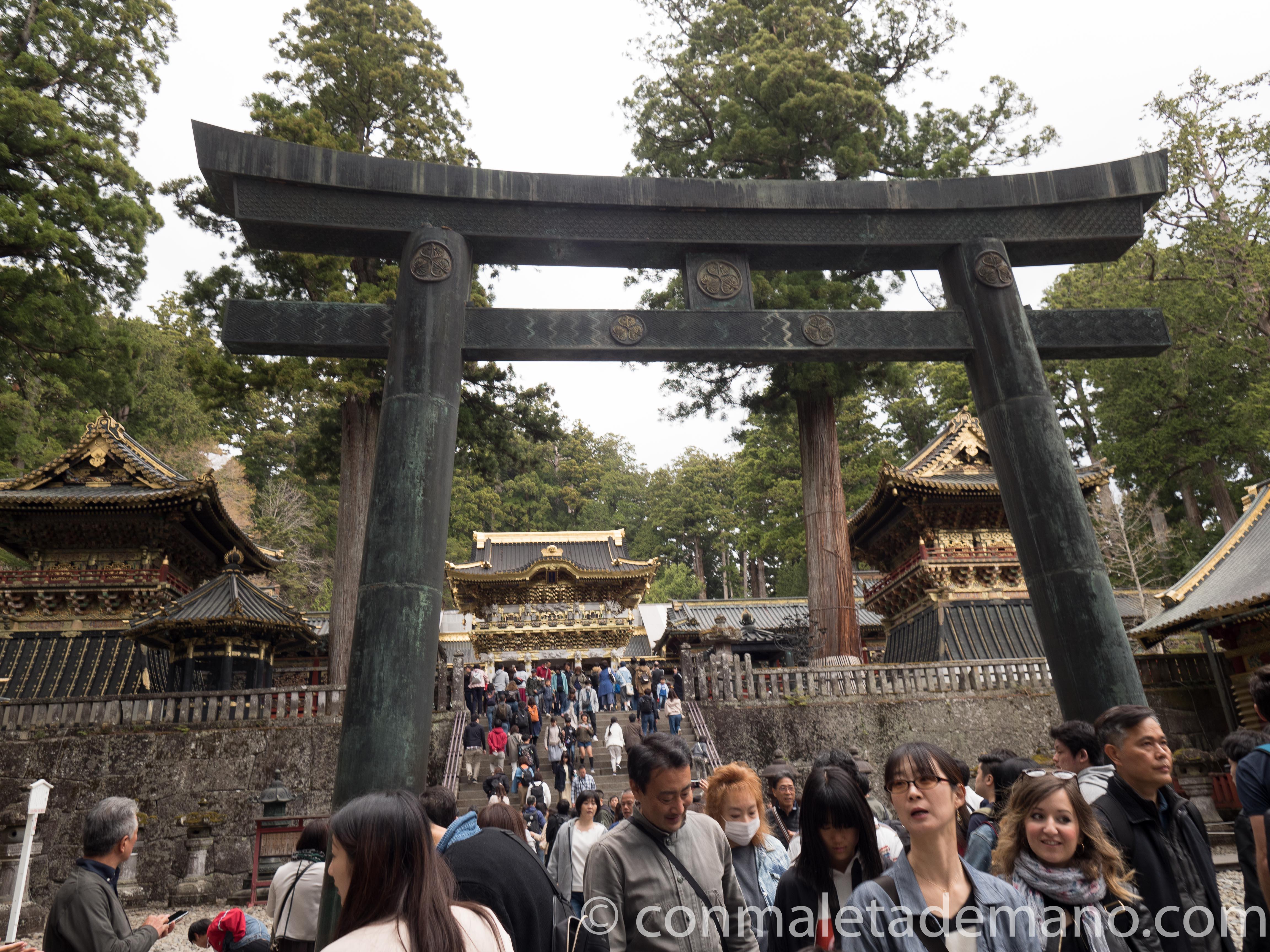 Entrada al Santuario Toshogu, en Nikko