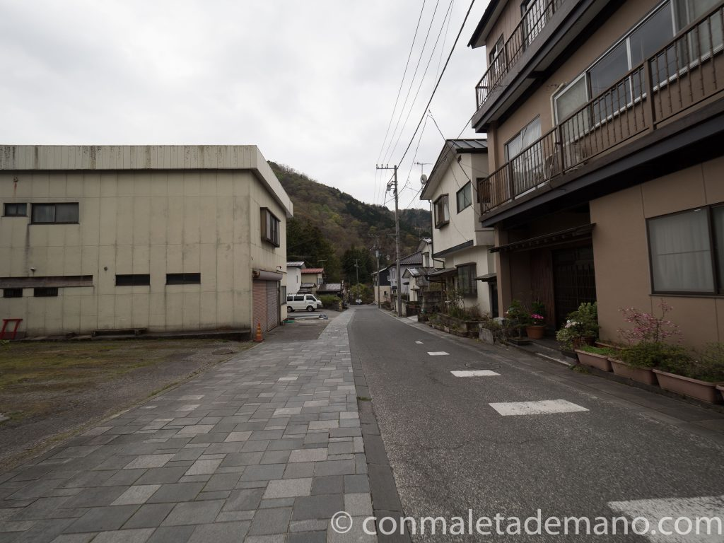 Calles de Nikko, yendo hacia el Abismo de Kanmangafuchi