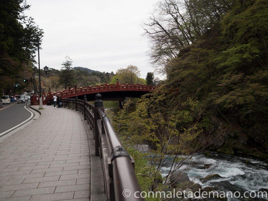Puente Shinkyo, en Nikko