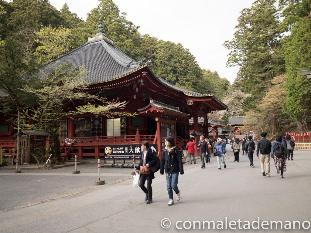 Edificio Jogyodo, parte del Templo Rinnoji