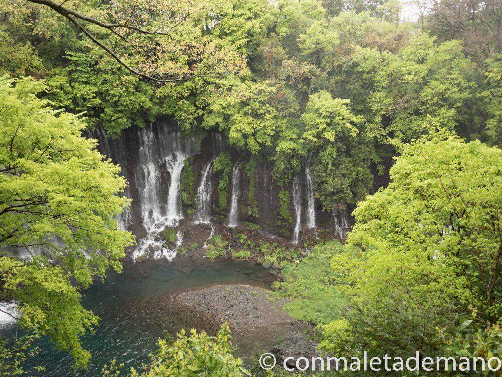 Cascadas Shiraito, en el Tour a los 5 Lagos del Fuji
