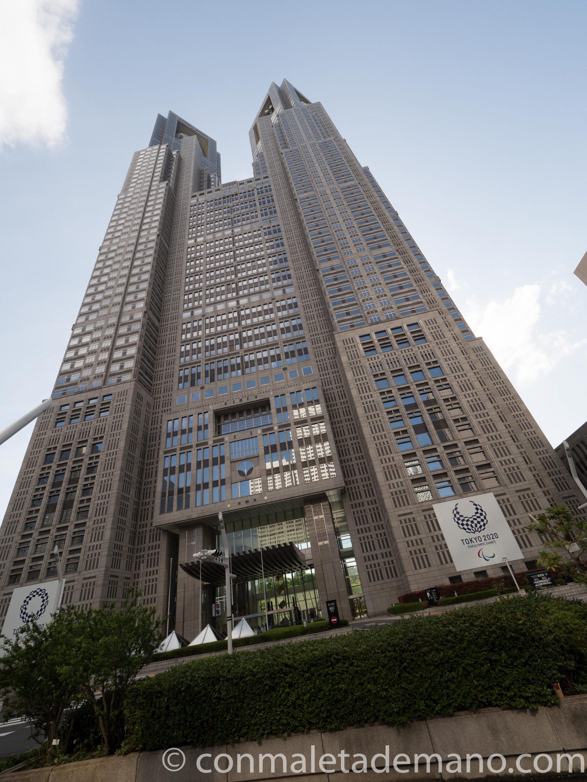 Edificio del Gobierno Metropolitano de Tokyo, en Shinjuku