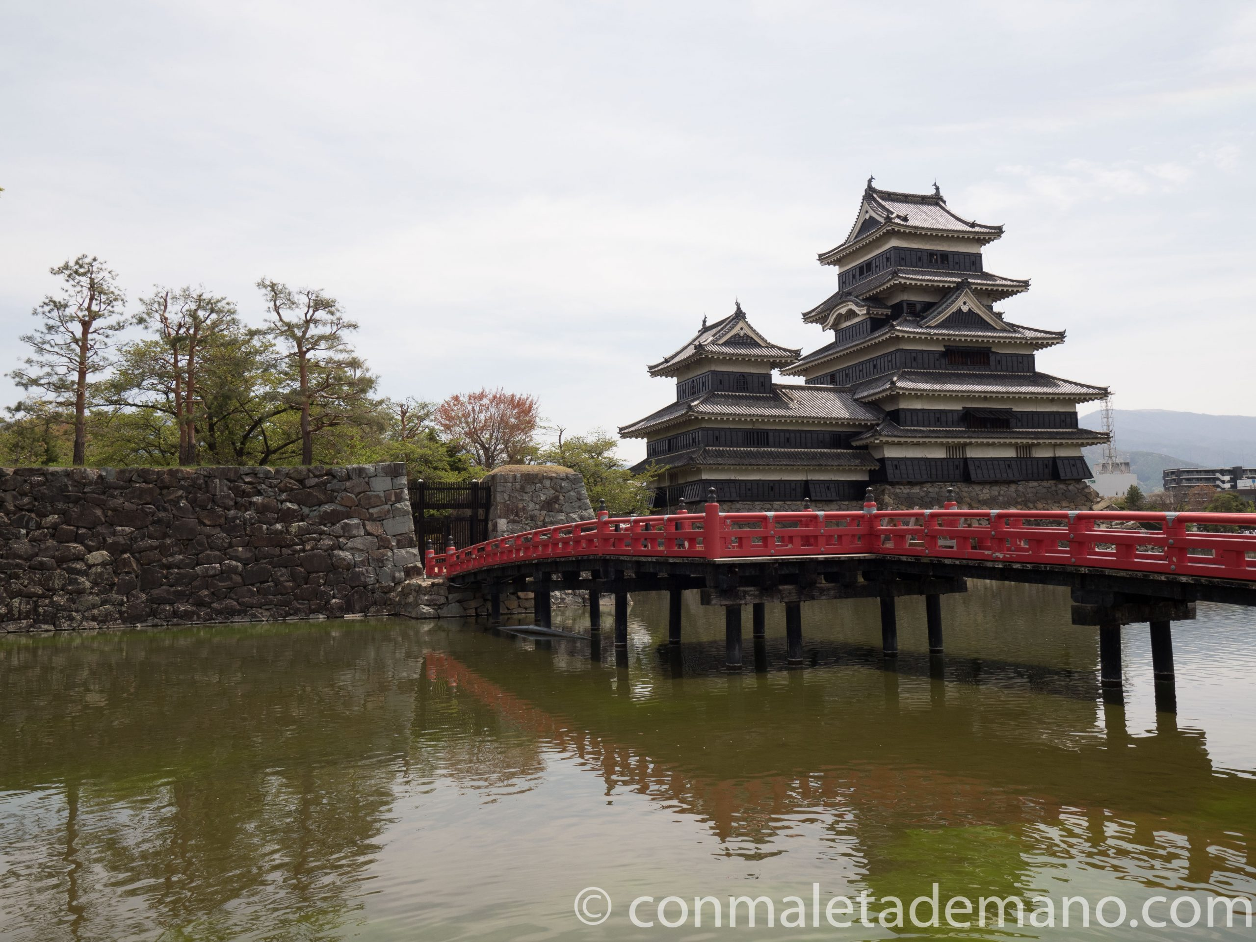 Exterior del Castillo de Matsumoto