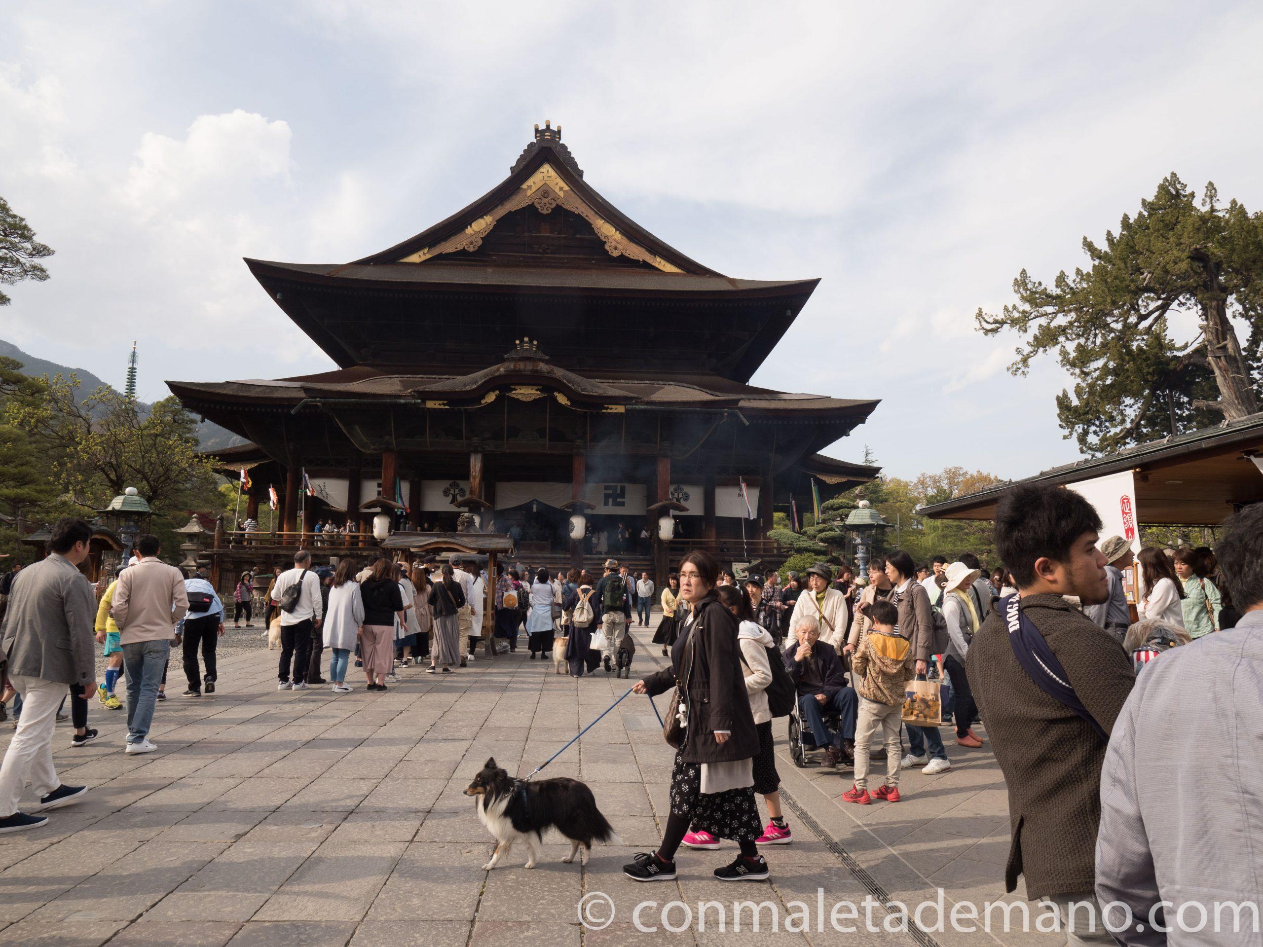 Templo Zenkoji, en Nagano