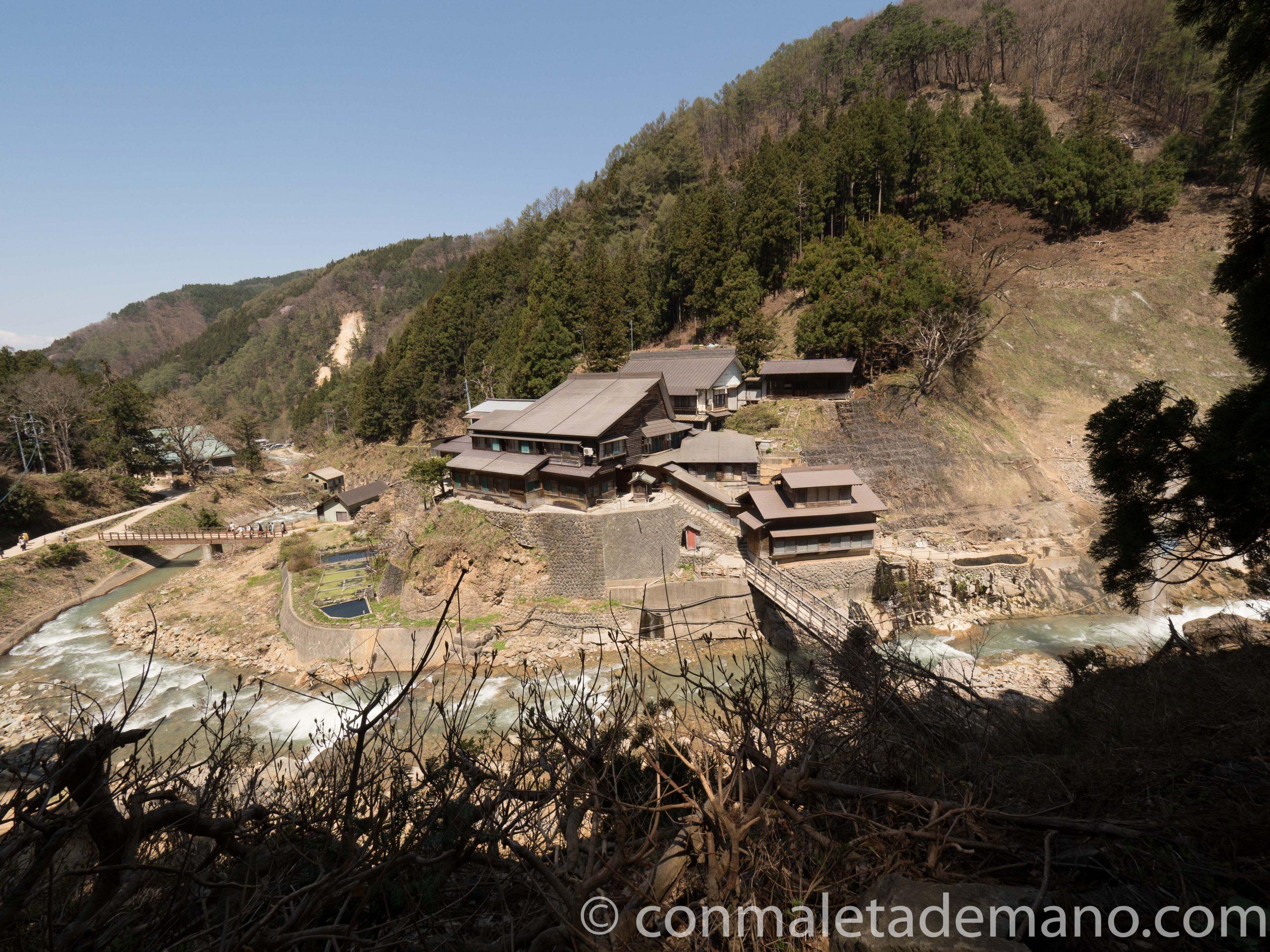 Vistas desde Jigokudani