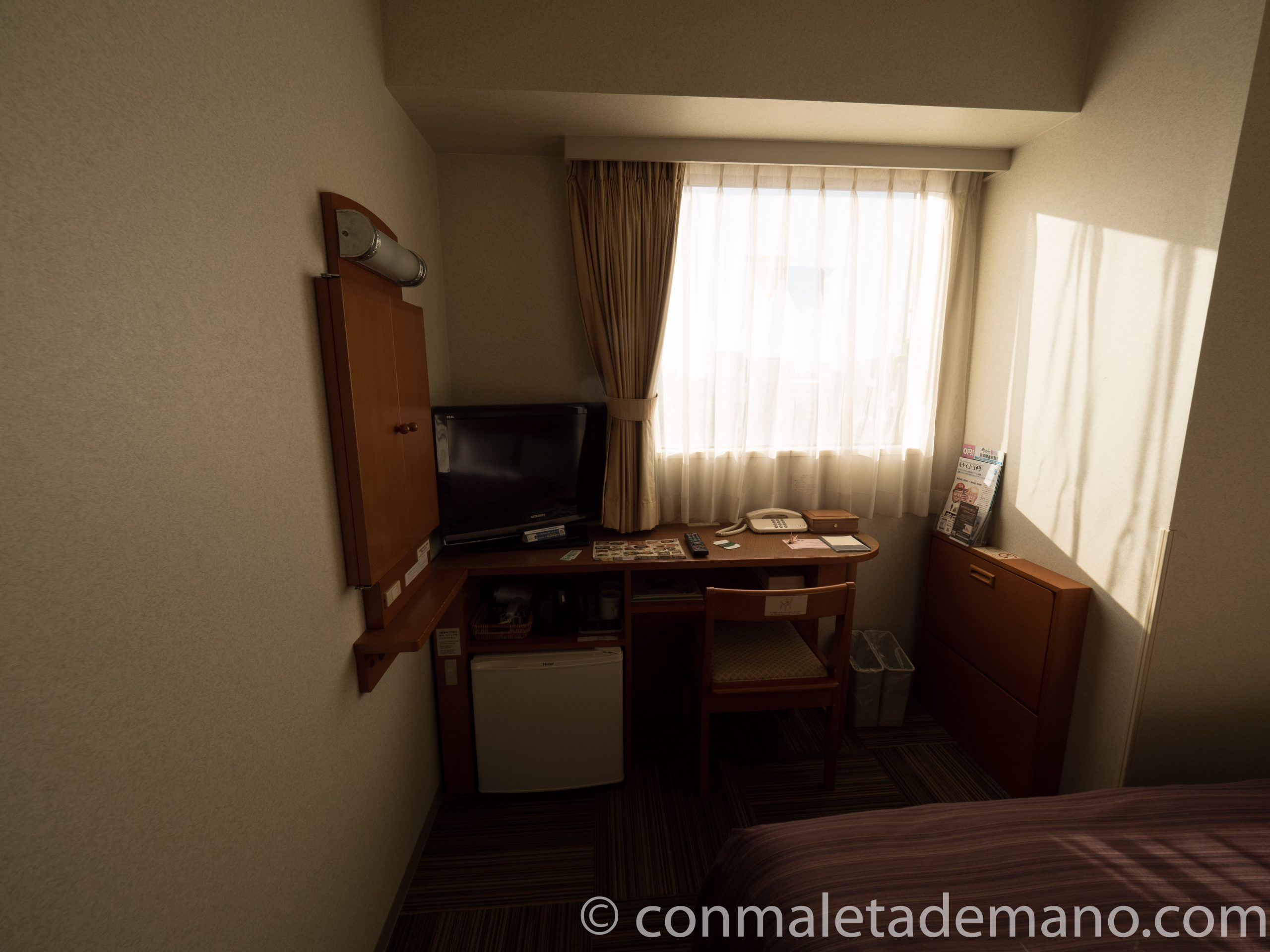 Habitación del Hotel Route Inn Kanazawa Ekimae