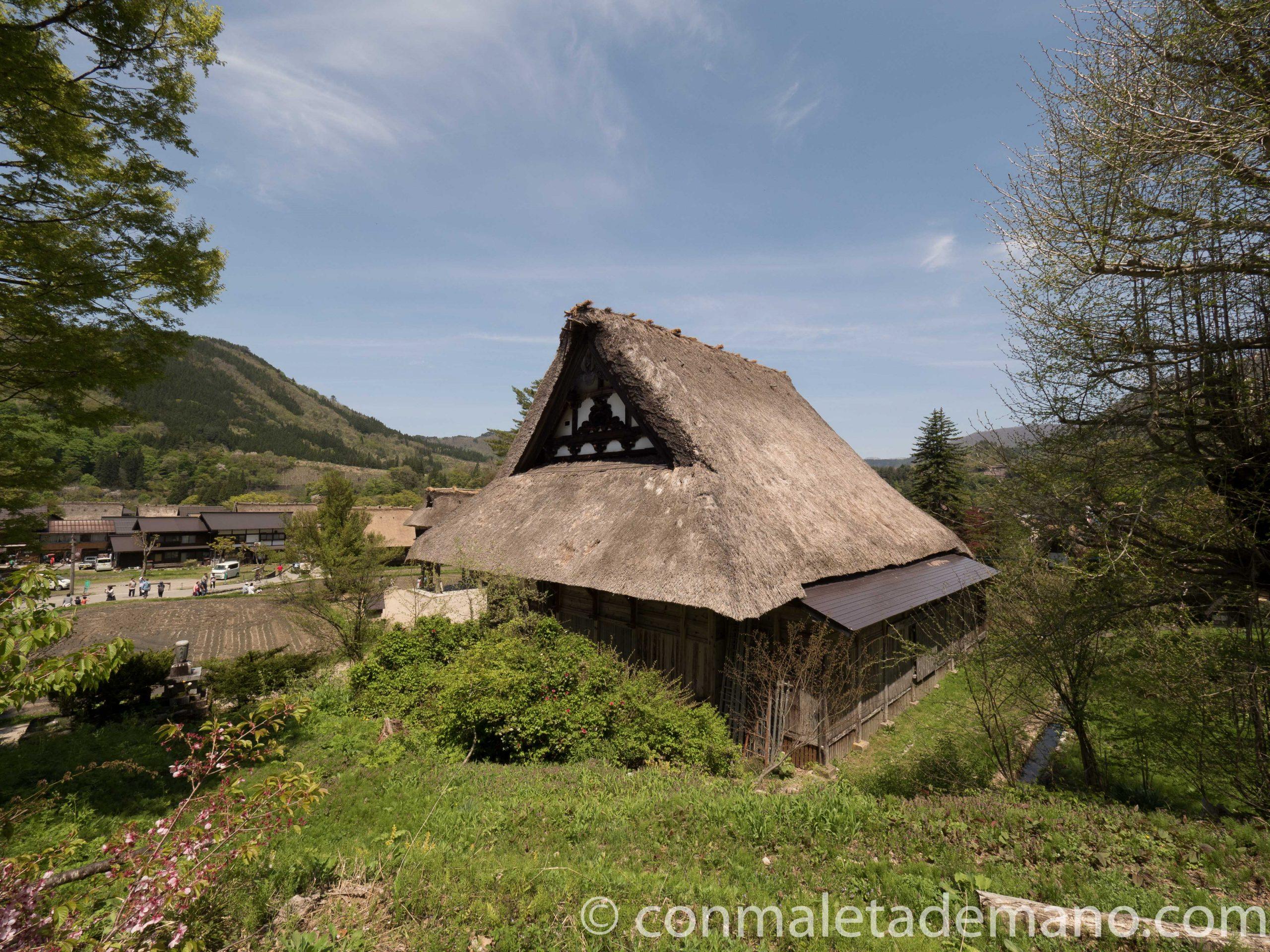 Casa gassho-zukuri en Shirakawago