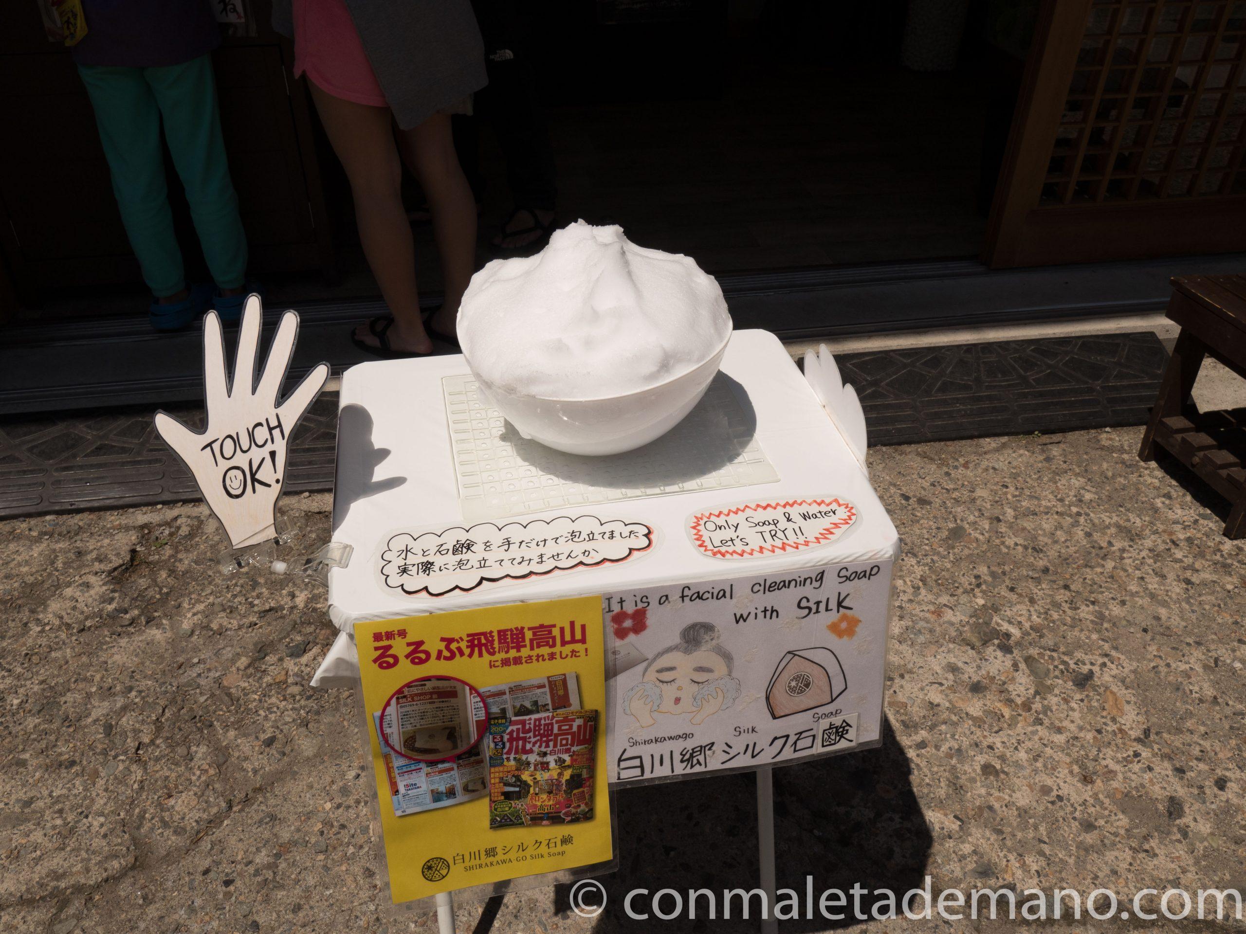 Jabón facial de Shirakawago
