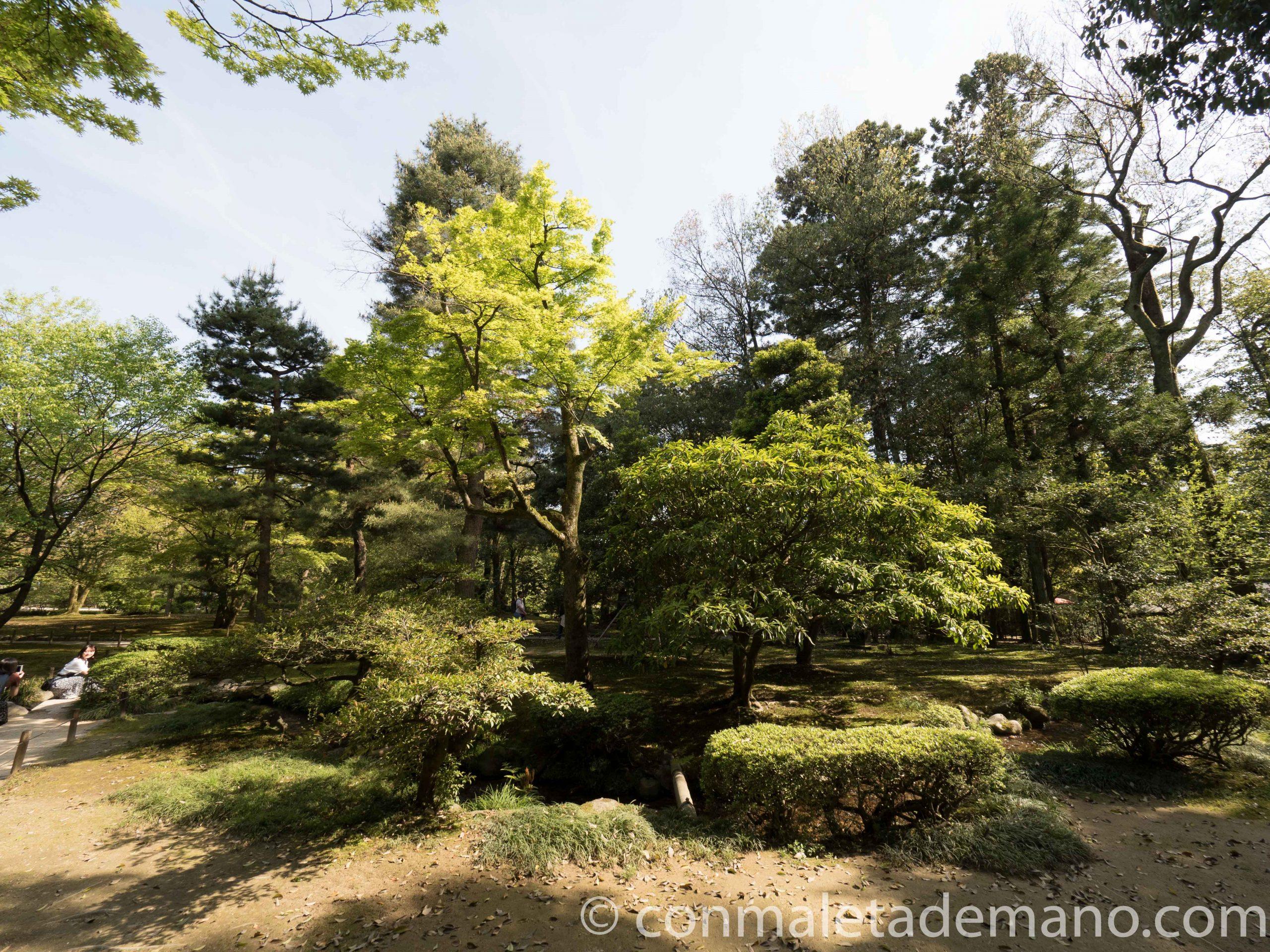 Jardines Kenrokuen, en Kanazawa