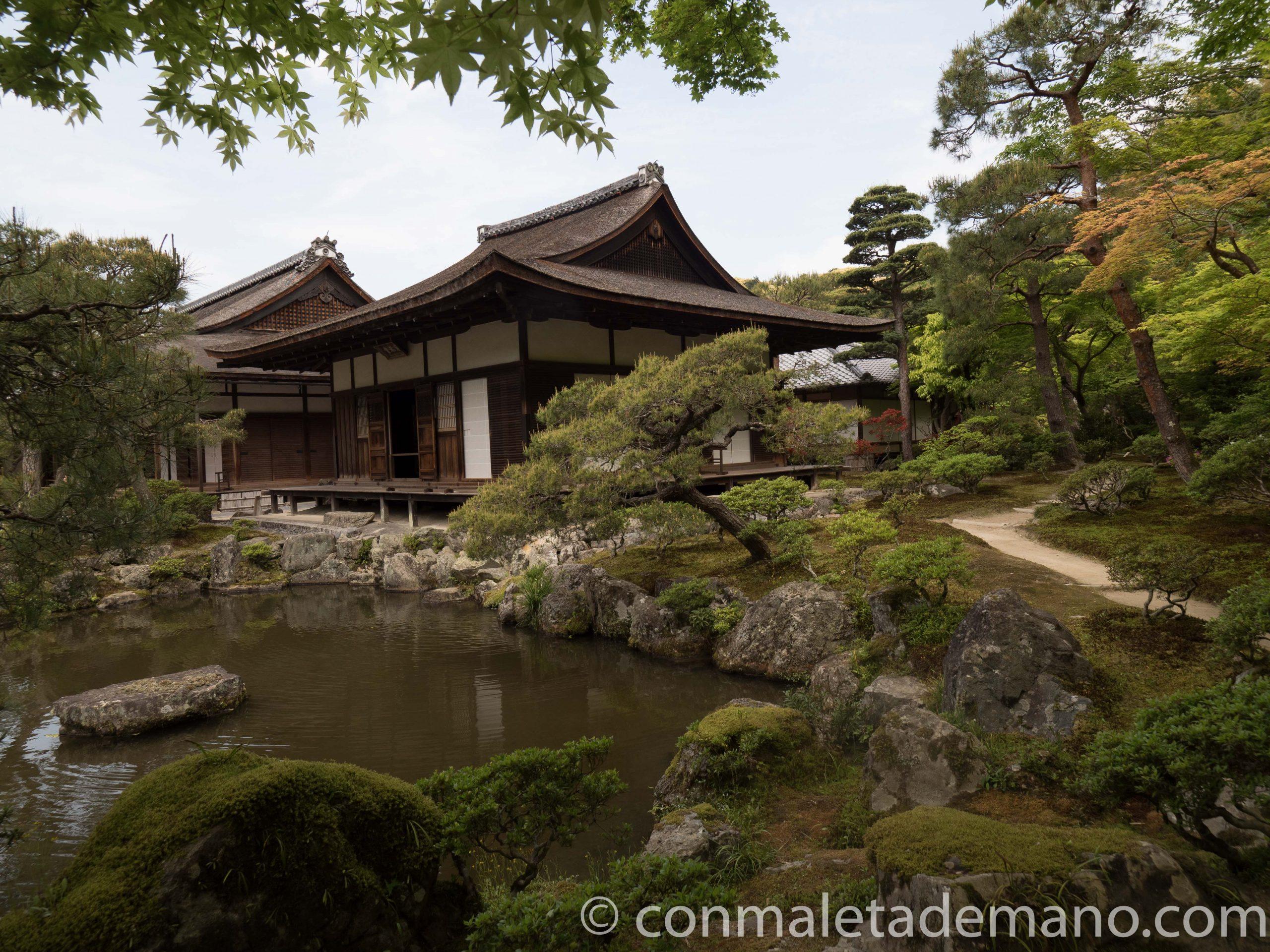 Otro de los edificios del Ginkakuji