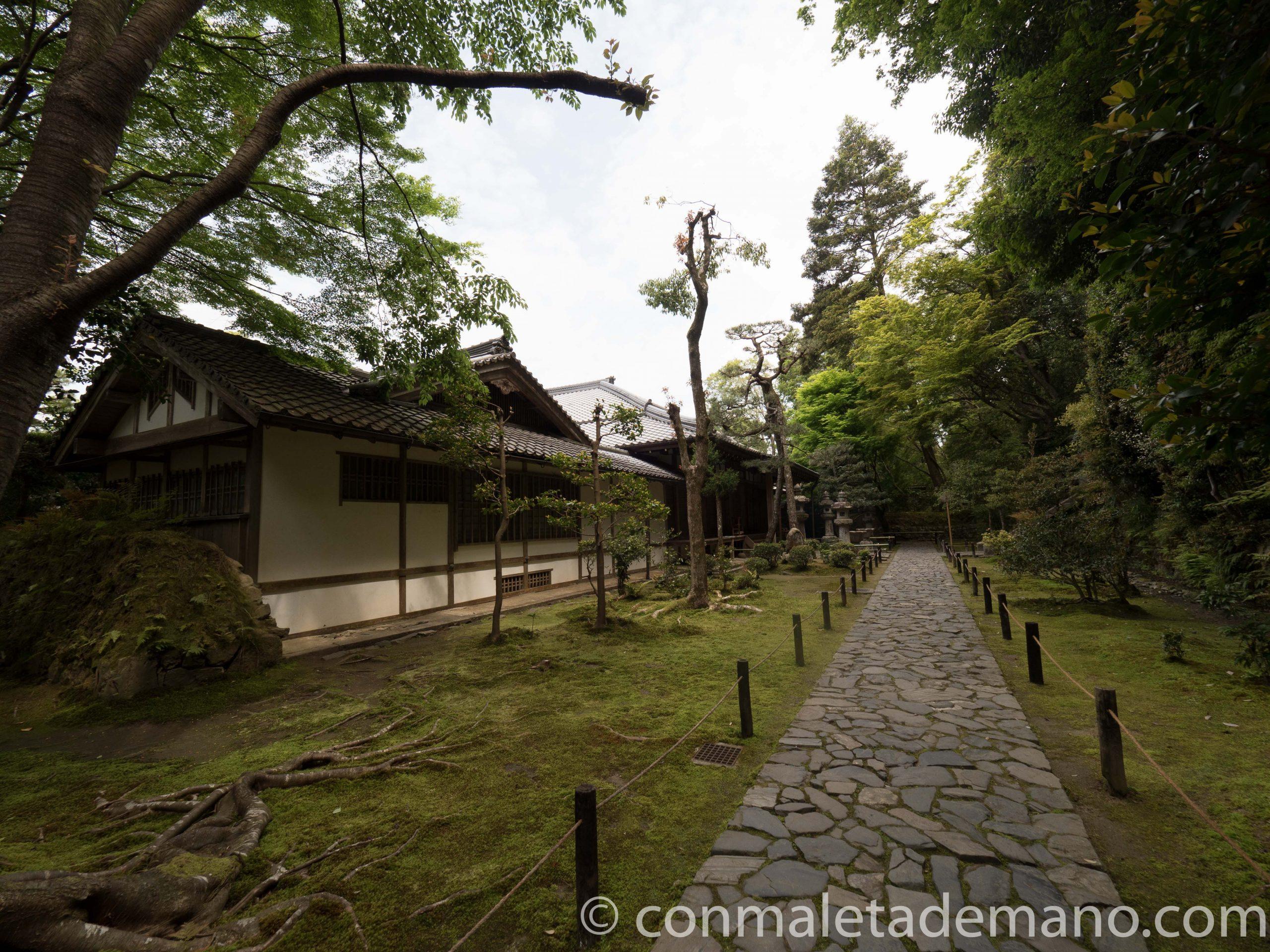 Templo Honen-in, en Kioto