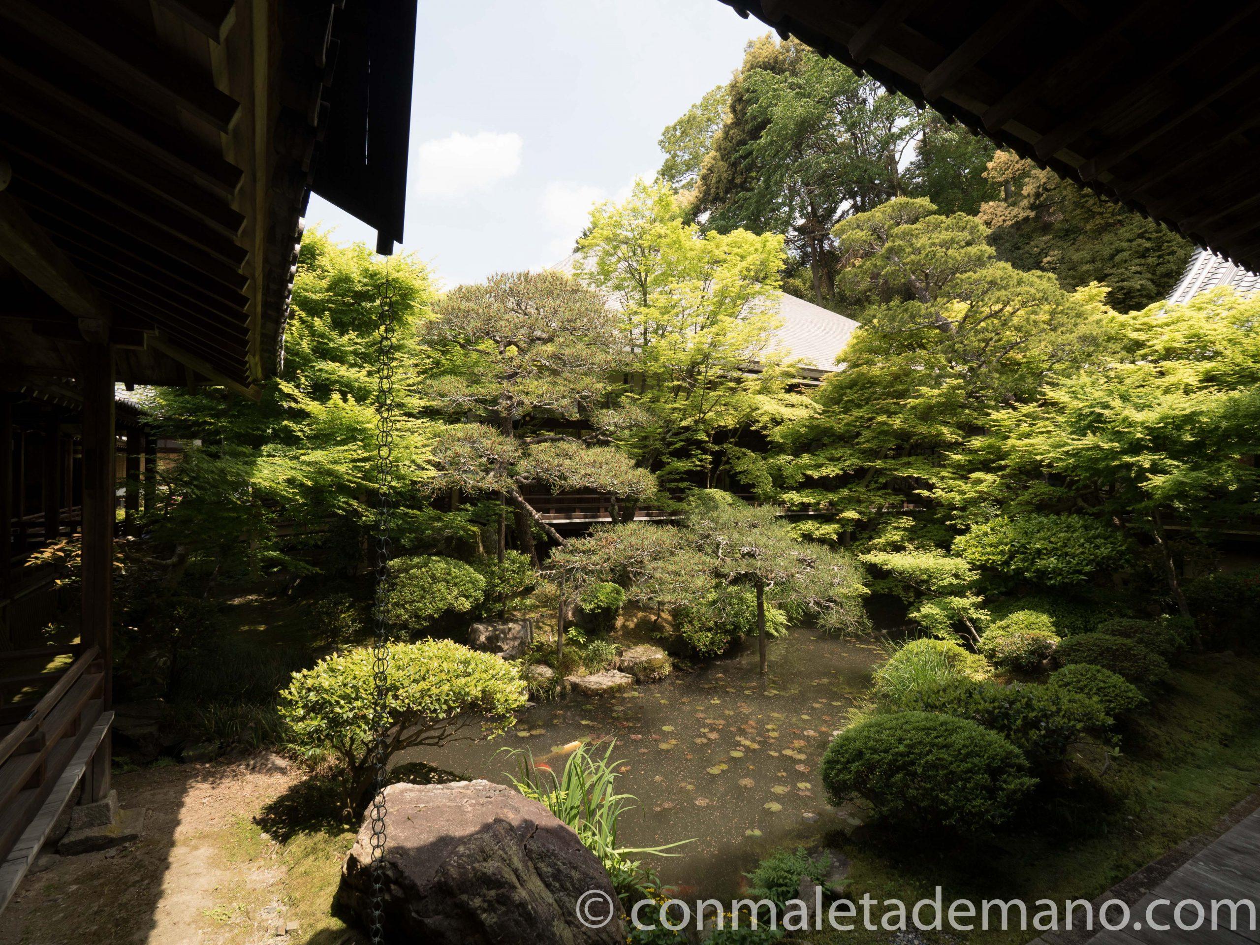 Jardines del templo Eikando