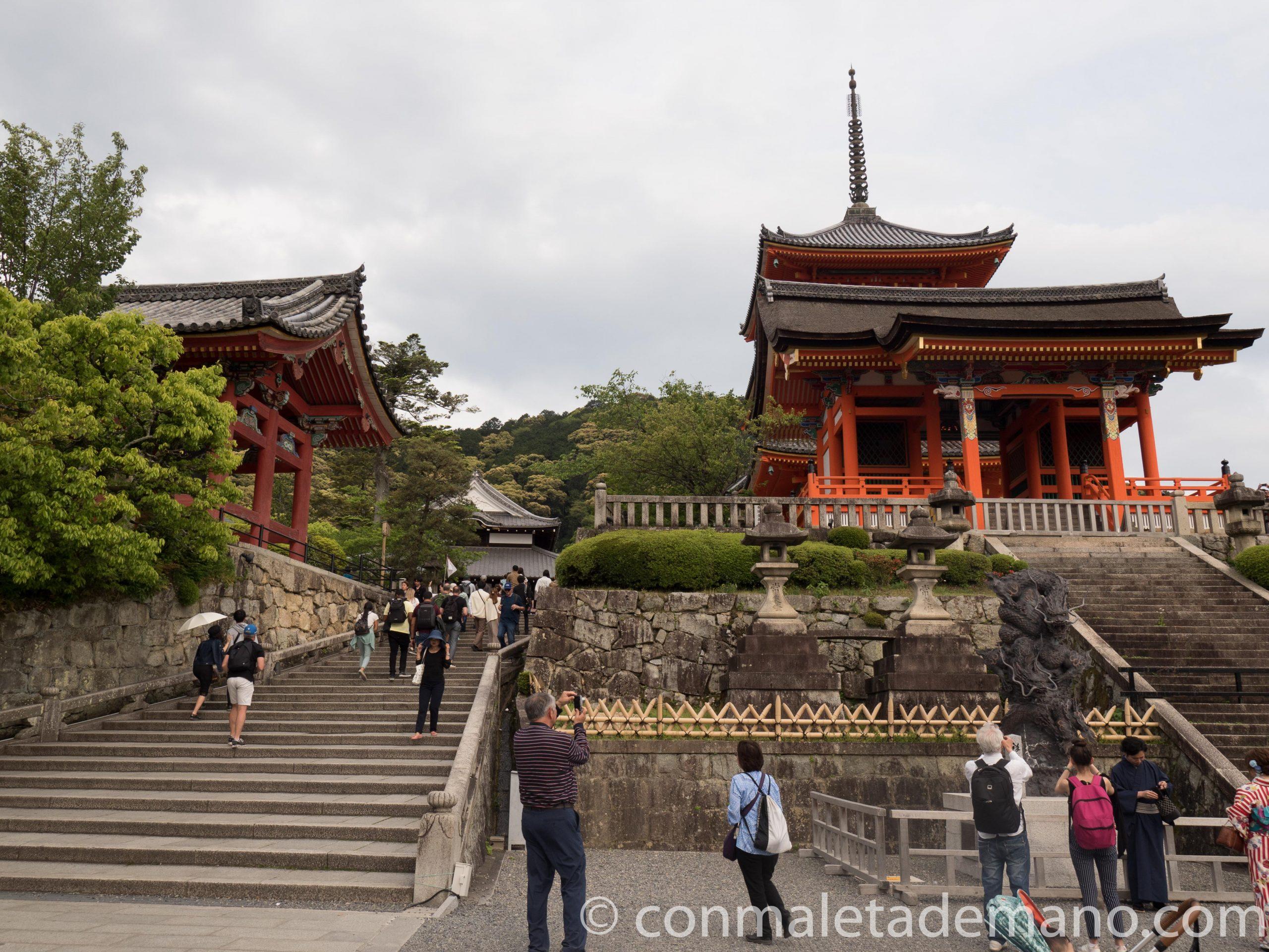 Templo Kiyomizudera, en Kioto