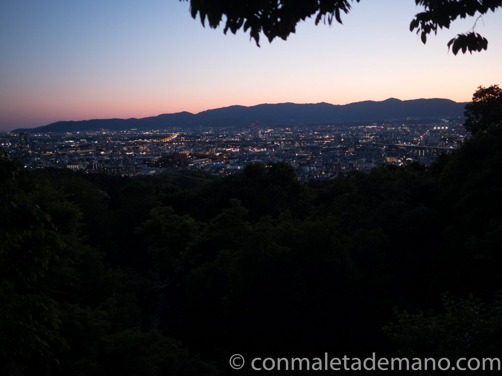 Vistas desde Fushimi Inari