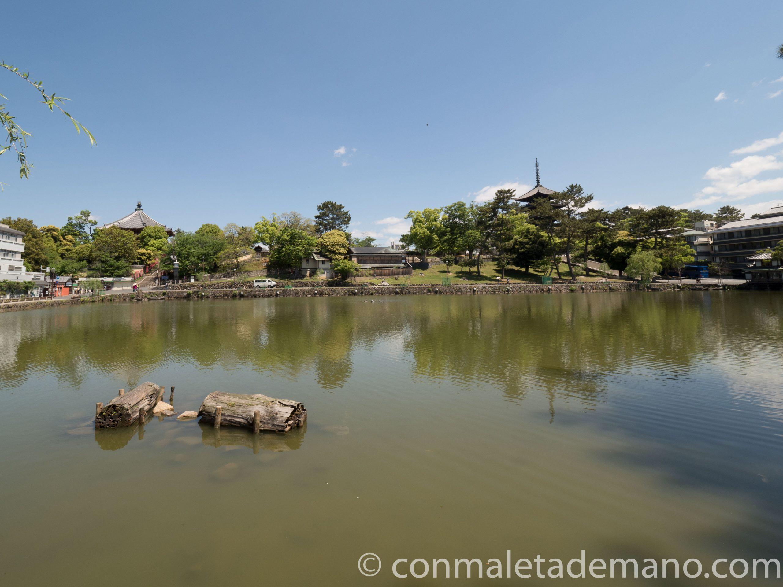Sarusawa Ike Pond, el lago artificial de Nara