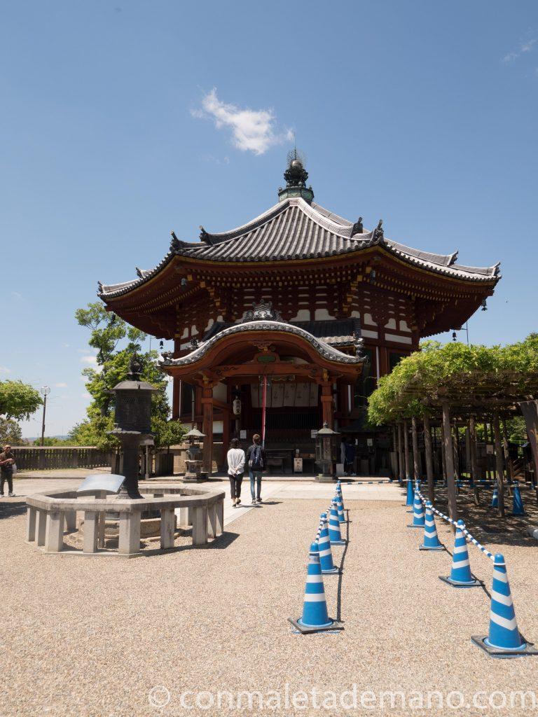 Uno de los edificios del Templo Kofuku-ji