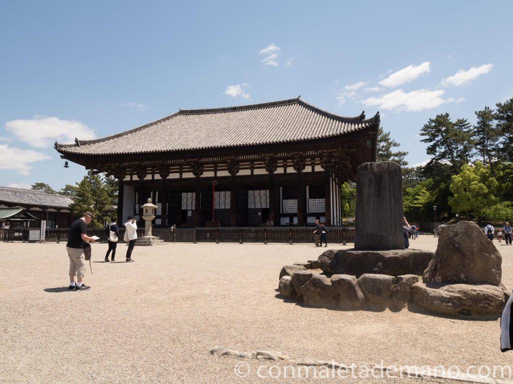 Uno de los edificios del Kofuku-ji, en Nara