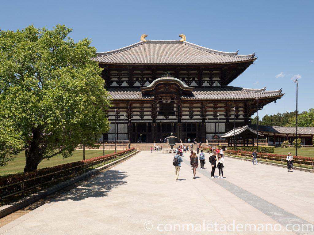 Templo Todai-ji, en Nara