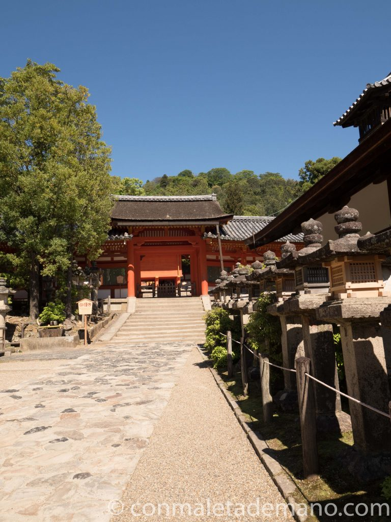 Santuario Kasuga Taisha, en Nara
