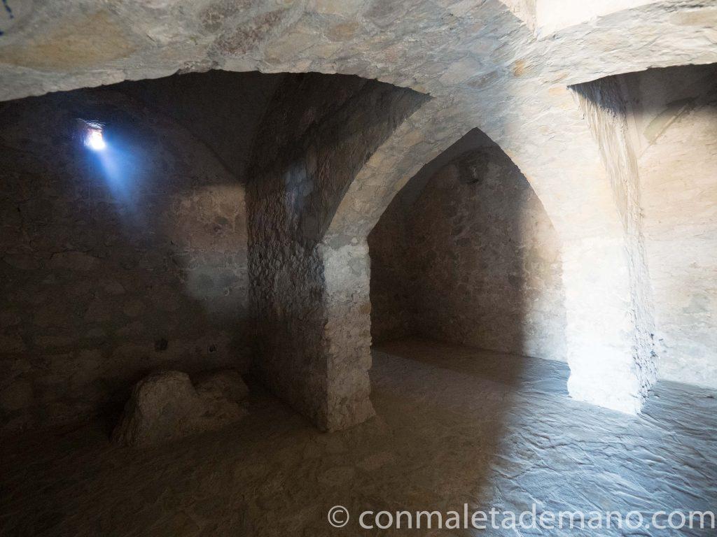 Interior del Castillo de Zahara de la Sierra