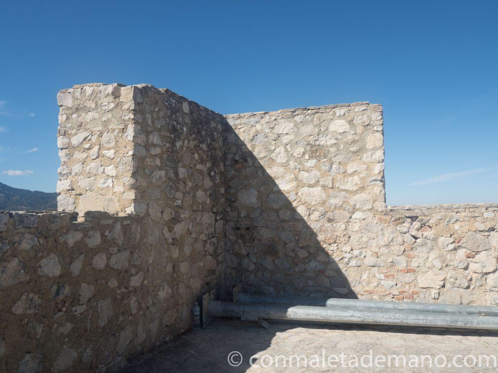 Parte alta del Castillo de Zahara de la Sierra