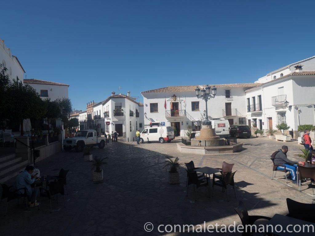 Plaza del Rey, en Zahara de la Sierra
