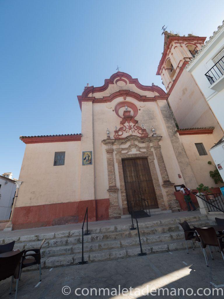 Iglesia de Santa María de la Mesa, en Zahara de la Sierra