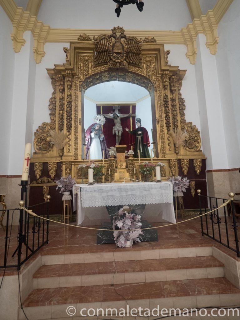 Altar mayor de la Capilla de San Juan de Letrán