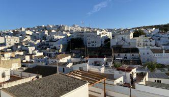 Vistas desde la terraza del hotel Posada de las Cuevas