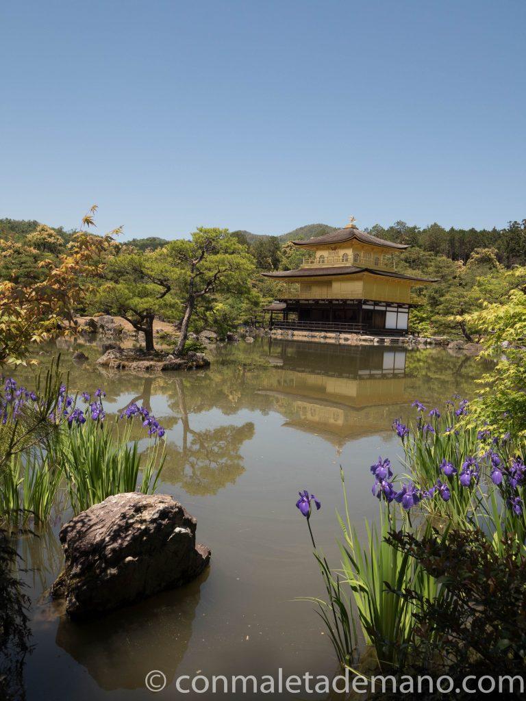 Templo Kinkaku-ji, en Kioto, Japón