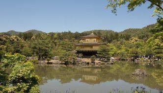 Templo Kinkakuji, en Kyoto, Japón