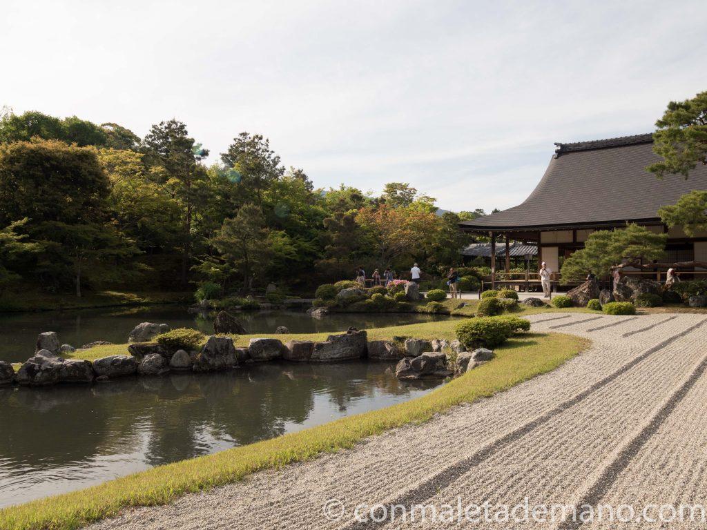 Templo Tenryuji, en Arashiyama, Kioto, Japón