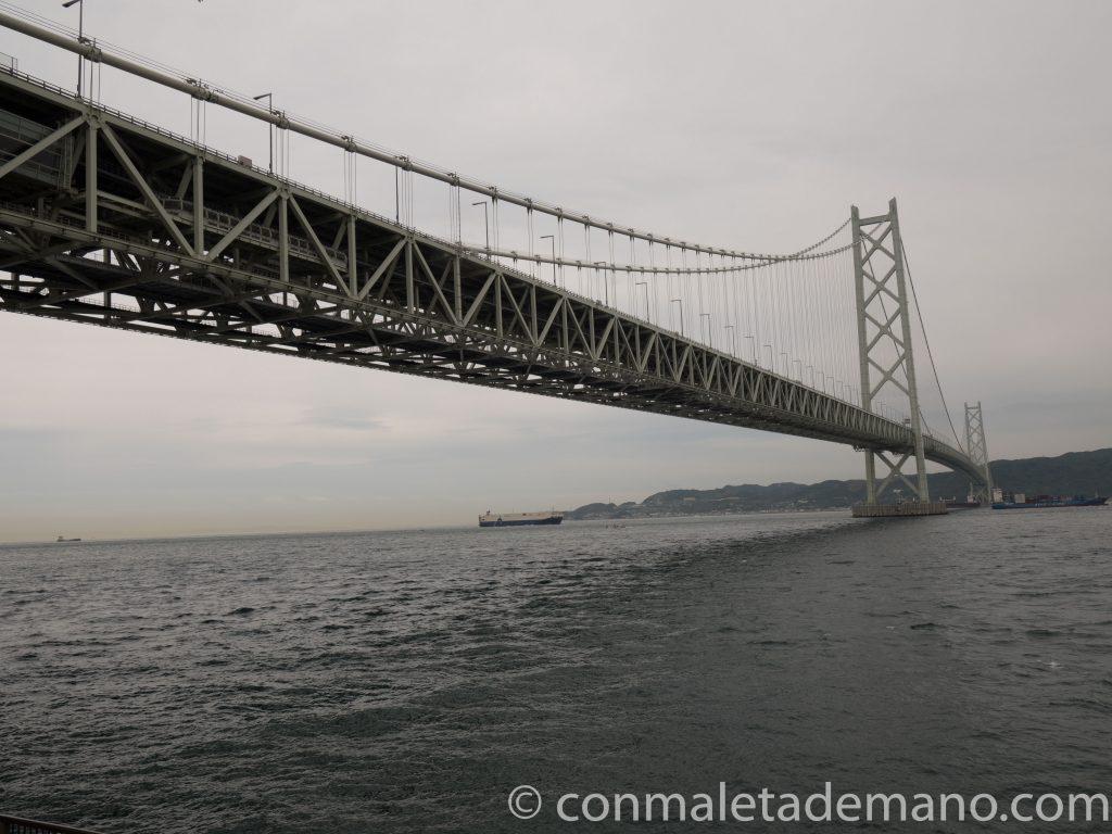 Puente Akashi Kaikyo, en Kobe